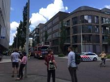 Brand in studentenhotel Casa 400