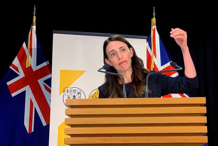 Jacinda Ardern, premier van Nieuw-Zeeland. Beeld AP