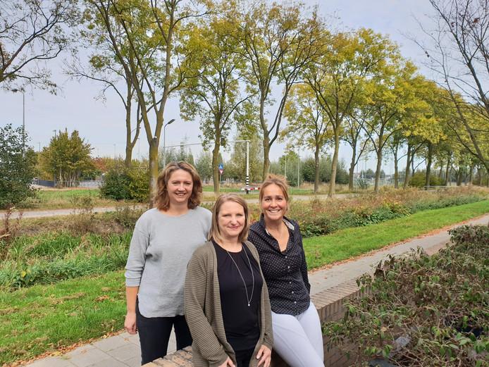 Wilma van Beekveld, Cynthia van Hest en Marleen Stegeman.