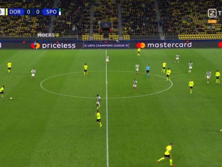 Malen met knappe goal voor Dortmund