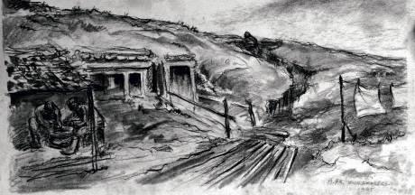 SS'er Willem Zwagers tekende letterlijk en figuurlijk voor het leven: 'Je had in het leger te eten'