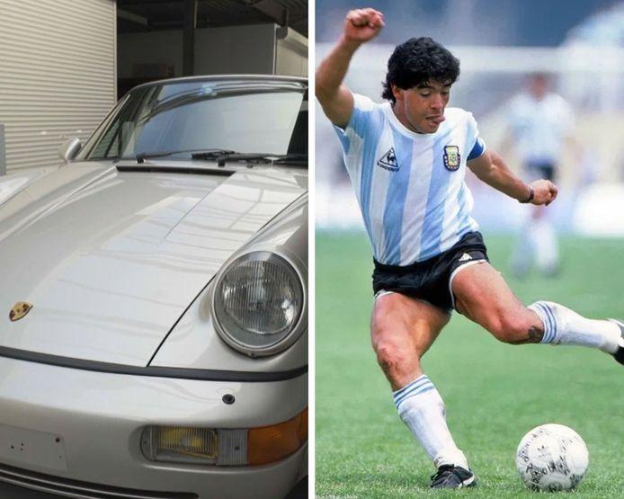 Le prix de la Porsche de Maradona est estimé entre 150 000 et 200 000 euros.