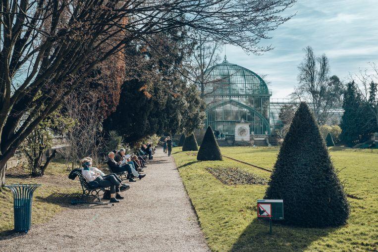 Jardin des Serres d'Auteuil. Beeld Thomas Sweertvaegher