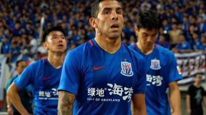 """Hij was er met 730.000 euro per week bestbetaalde voetballer ter wereld, nu lacht Tevez Chinezen in het gezicht uit: """"Ik was er zeven maanden op vakantie"""""""