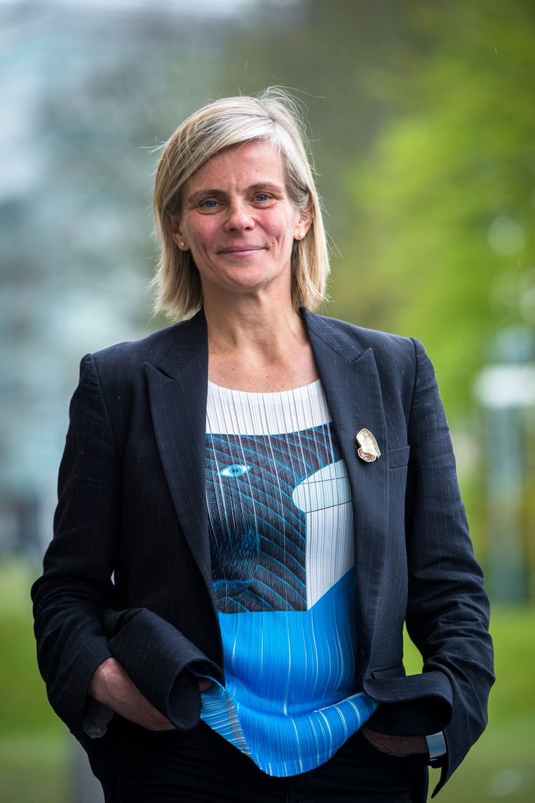 Caroline Pauwels. Beeld BELGA