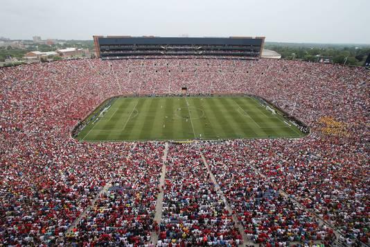 Manchester United en Real Madrid speelden in de zomer van 2014 voor 109.318 toeschouwers in het Michigan Stadium, een toeschouwersrecord bij een voetbalwedstrijd in de VS.