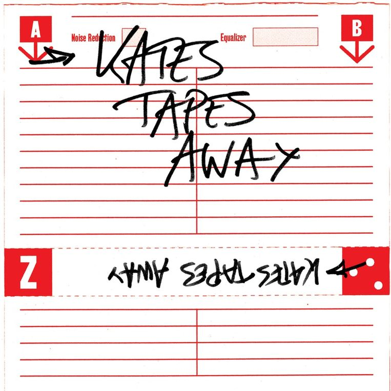 Kates Tapes Away. Beeld rv