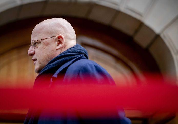 Demissionair minister van Justitie en Veiligheid, Ferdinand Grapperhaus.
