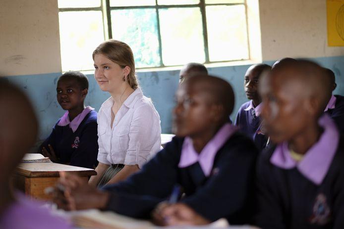 De kroonprinses in Kenia