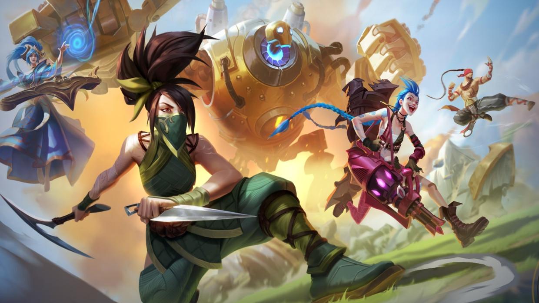 League of Legends Wild Rift Beeld Humo