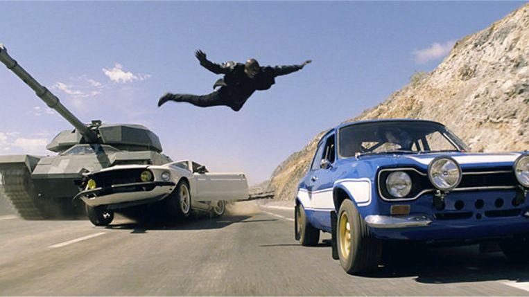 Fast & Furious 6 van Justin Lin. Beeld