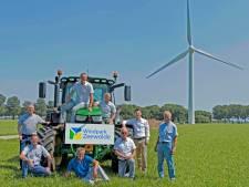 Bouw Windpark Zeewolde, het grootste windpark van Nederland, kan van start