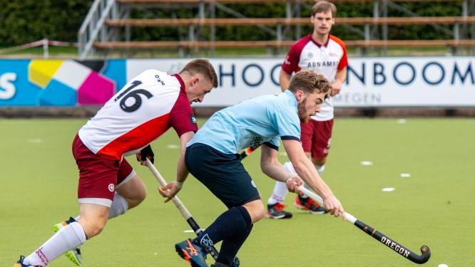 Hockeyers NMHC declasseren ex-hoofdklasser Almere; Blom scoort vier keer