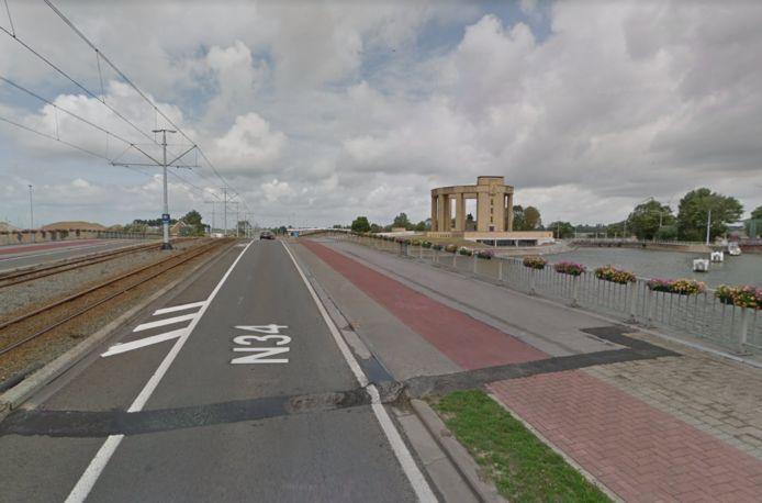 Er zijn werken gepland op de Langebrug.