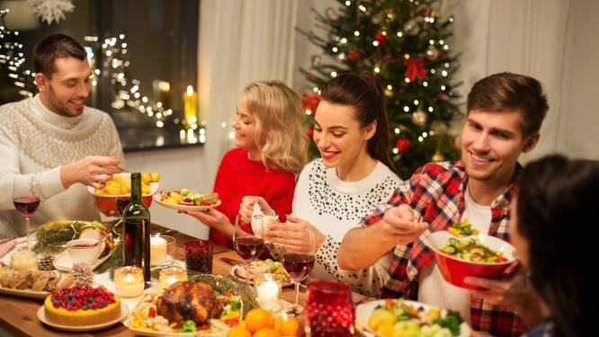 Twee bezoekers extra aan de feestdis: is dit het meest evenwichtige kerstscenario?