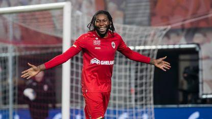Mbokani is topschutter van seizoen 2019-2020: Congolees haalt het van David op uitdoelpunten