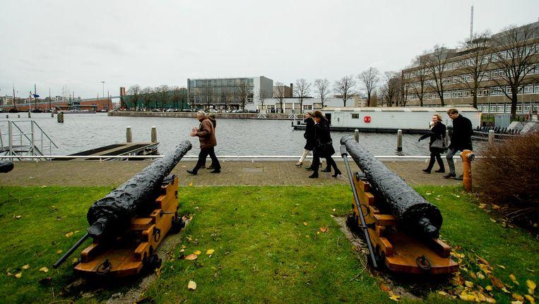 De voormalige scheepswerf is een van de begeerlijkste stukjes grond in de stad Beeld anp