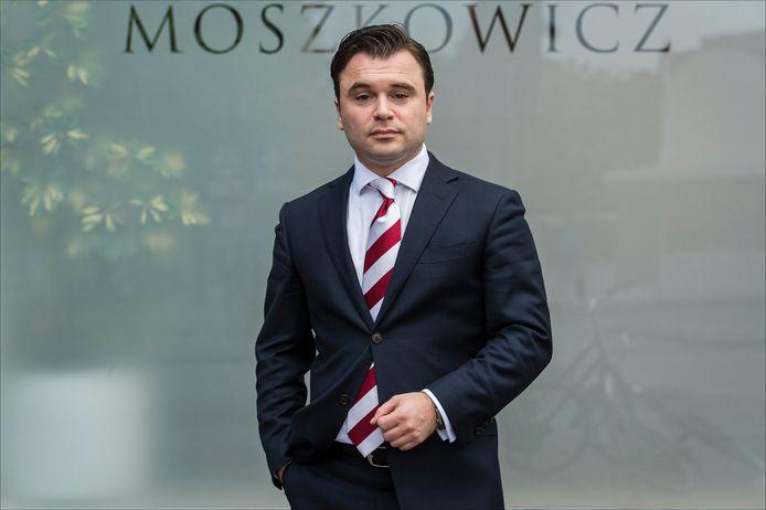 Yehudi Moszkowicz, de jongste advocaat uit het bekende advocatengeslacht
