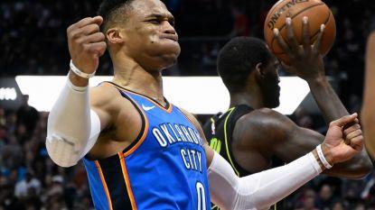 Westbrook schaart zich met honderdste triple-double in illuster rijtje