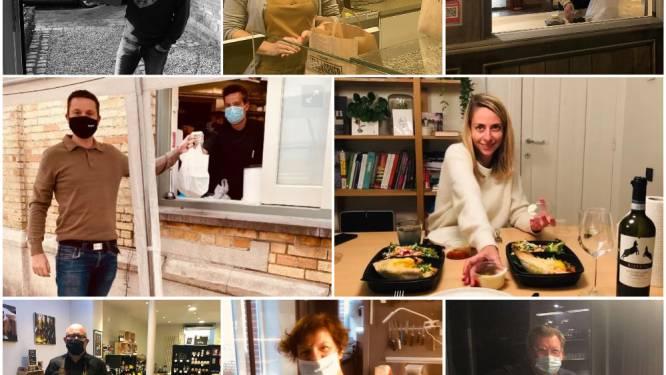 """Schepen eet maand lang elke dag takeaway om horeca te steunen: """"Het was 30 keer lekker, we gaan door"""""""