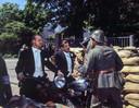 De film Soldaat van Oranje met Rutger Hauer (links) als Erik Hazelhoff Roelfzema en Jeroen Krabbé als Peter Tazelaar