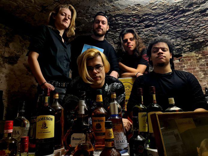 Floyd & The Barbers, een van de acht geselecteerde bands voor de voorrondes van bandwedstrijd T-strijd 2021 in Bergen op Zoom.