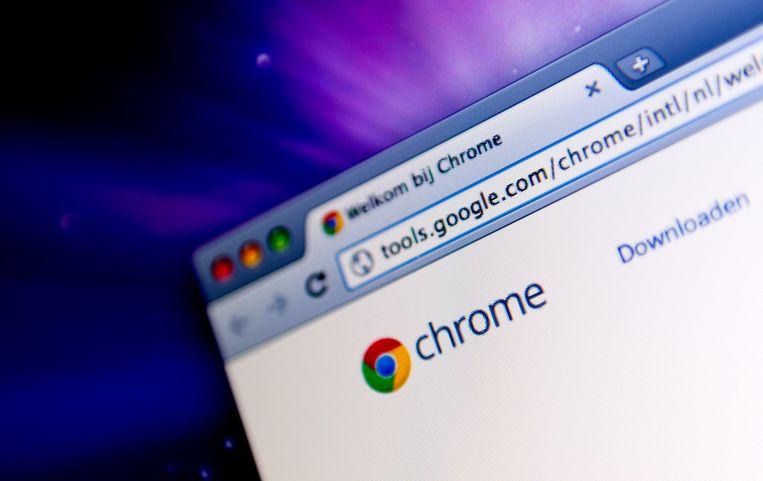 Google Chrome heeft een marktaandeel van zowat 25 procent. Beeld ANP