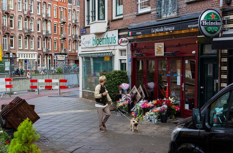 De onschuldige restauranteigenaar Savic werd op 23 oktober 2019 doodgeschoten in zijn pizzeria.  Beeld Maarten Brante