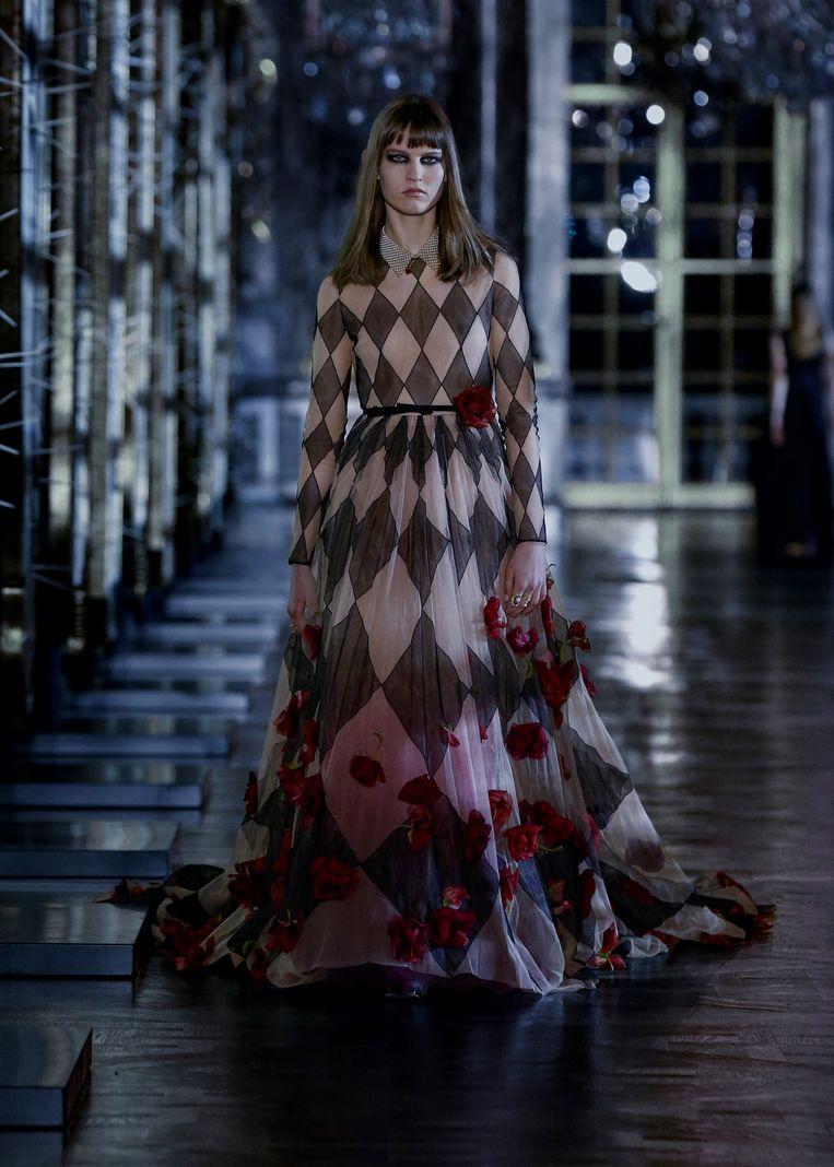 Christian Dior-show in het paleis van Versailles. Beeld Imaxtree