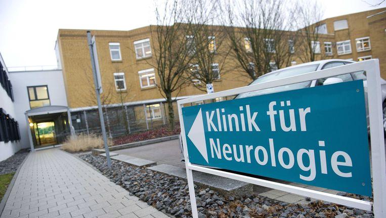 De Klinikum am Gesundbrunnen, het Duitse ziekenhuis in Heilbronn waar de omstreden neuroloog Ernst Jansen Steur werkte. Beeld ANP