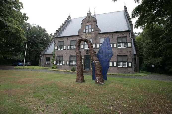 Het werk Wiegende Bergen voor museum De Wieger in Deurne.