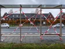 Spoor van vernielde bushaltes in Schijndel: 'Alles waait er doorheen'