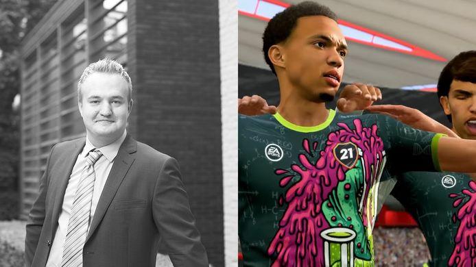René Otto (links) is advocaat bij Van Iersel Luchtman Advocaten en gespecialiseerd in de juridische aspecten van games. Volgens hem is FIFA-maker EA Sports momenteel de dupe van de zwarte markt om de game heen, waar de ontwikkelaar zelf helemaal niets mee te maken heeft.