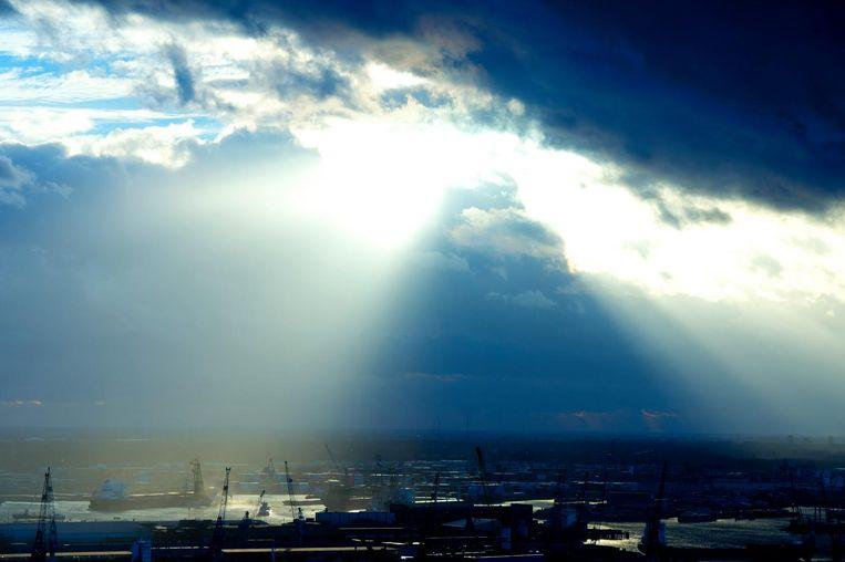 De skyline van Rotterdam. Beeld ANP