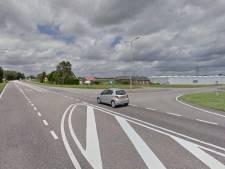 Extra verkeerslichten op N217 bij kruising Polderweg