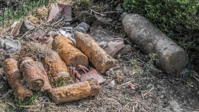 Obus tot ontploffing gebracht na vondst oorlogsprojectielen bij controle op boerderij in Langemark-Poelkapelle