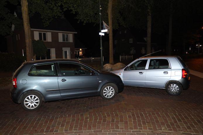 Ongeluk in Runstraat Schaijk.