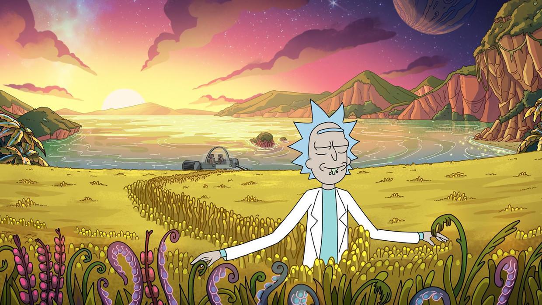 Rick & Morty. Beeld