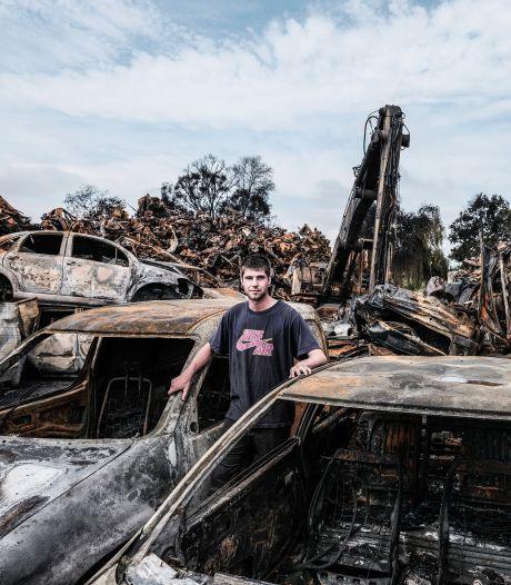 Giftige stoffen in grondwater bij autosloperij, blijkt uit bodemonderzoek na verwoestende brand