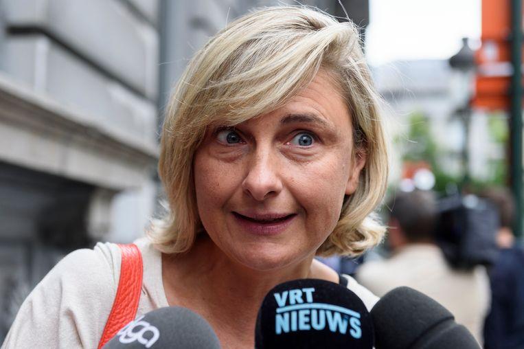 Minister van Onderwijs Hilde Crevits (CD&V). Beeld Reporters / QUINET