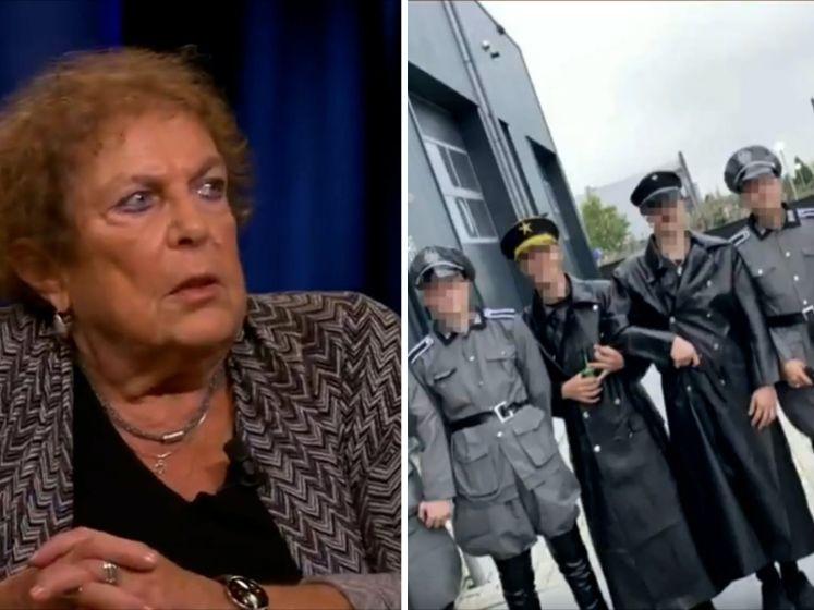 Holocaust-overlevende Lous (80) maakt indruk op jongeren uit Urk: 'Een jongen kreeg elke dag een pak slaag van zijn vader'