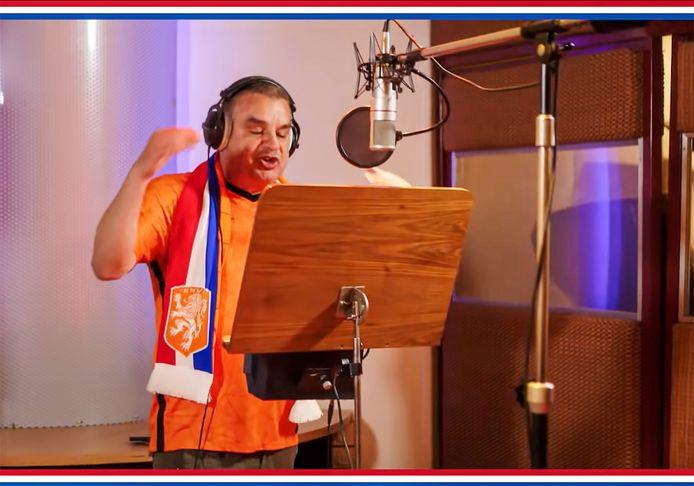 2021 Oranje EK lied van Frank Lammers - Frank de Boer