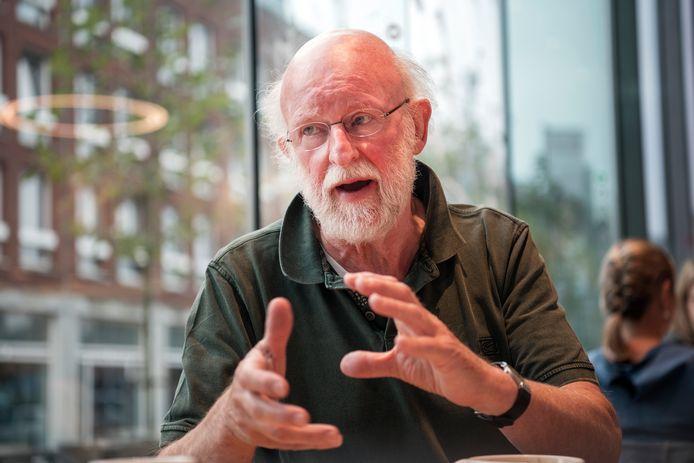 Simon Boon organiseert een Klimaatles in Apeldoorn.