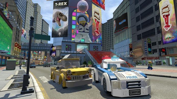 De LEGO-game zit vol knipogen naar filmklassiekers.