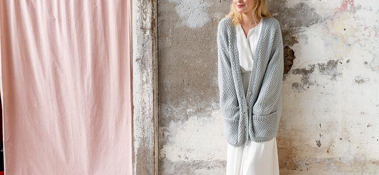 Geniet deze winter in je eigen gebreide oversized vest