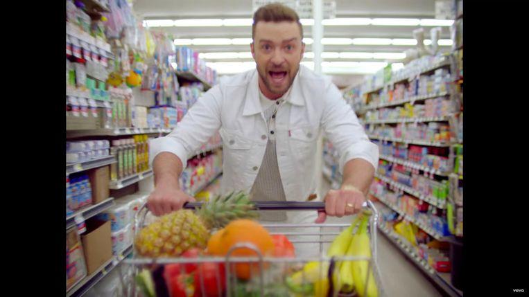Justin Timberlake - can't stop the feeling stills Beeld rv