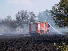 Brand Veluwe mogelijk aangestoken, verdachte aangehouden
