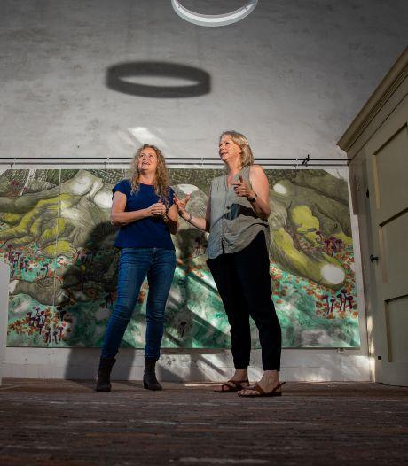 Nieuw werk over oude beuk in Batenburg: '120 jaar oud, maar er komen nog ieder jaar jonge blaadjes aan'