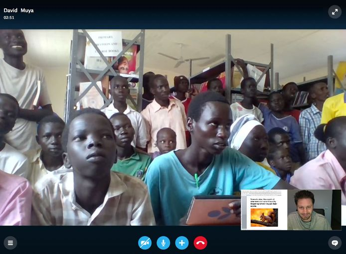 het Kakuma Skype Project