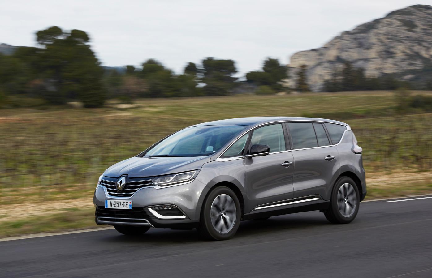 De huidige generatie van de Renault Espace, vormgegeven door de Nederlandse designchef Laurens van den Acker